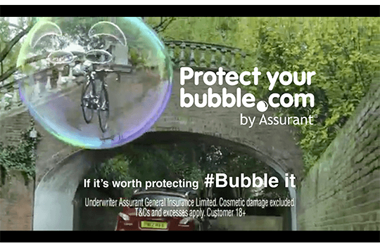 Protect Your Bubble Insurance for Gadget, Phone, Bicycle
