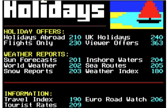 Teletext Holidays Cheap Holidays & Deals with 25+ years of experience